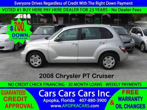 2008 Chrysler PT Cruiser for sale at CARS CARS CARS INC in Apopka FL