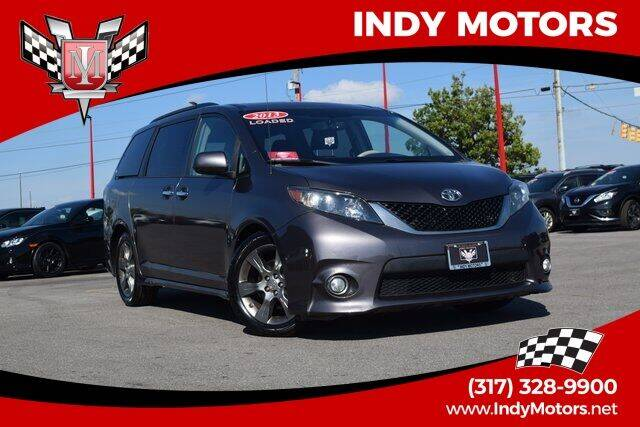 2013 Toyota Sienna for sale at Indy Motors Inc in Indianapolis IN