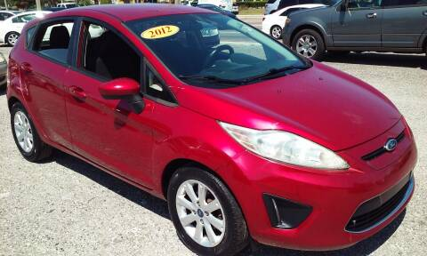 2012 Ford Fiesta for sale at Pinellas Auto Brokers in Saint Petersburg FL