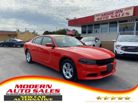 2019 Dodge Charger for sale at Modern Auto Sales in Hollywood FL