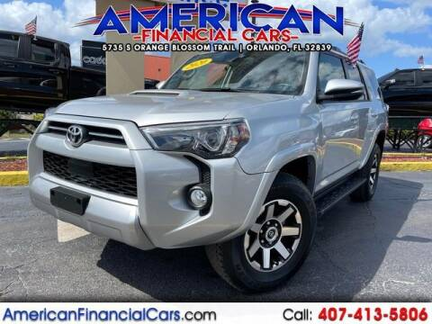 2020 Toyota 4Runner for sale at American Financial Cars in Orlando FL