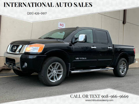 2012 Nissan Titan for sale at International Auto Sales in Hasbrouck Heights NJ