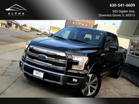 2016 Ford F-150 for sale at Alpha Luxury Motors in Downers Grove IL