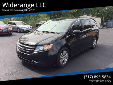 2014 Honda Odyssey for sale at Widerange LLC in Greenwood IN