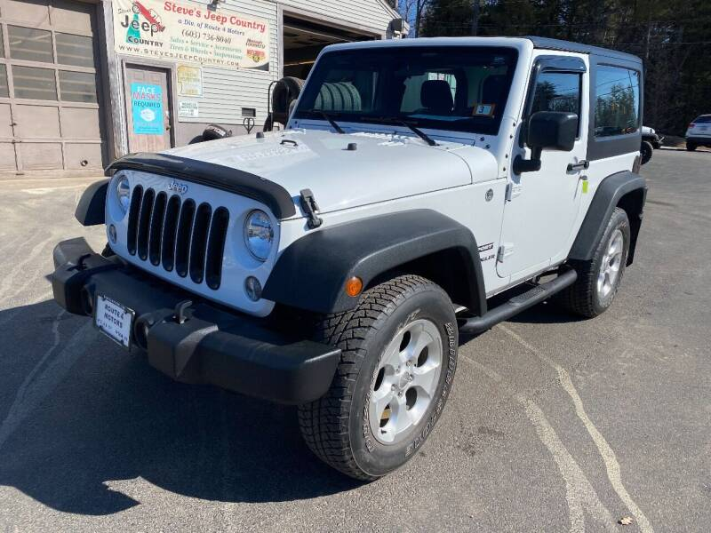 2015 Jeep Wrangler for sale at Route 4 Motors INC in Epsom NH
