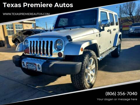 2011 Jeep Wrangler Unlimited for sale at Texas Premiere Autos in Amarillo TX