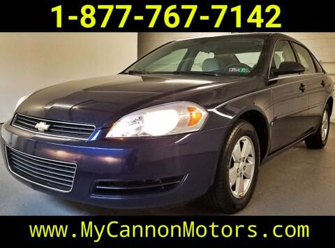 2008 Chevrolet Impala for sale at Cannon Motors in Silverdale PA