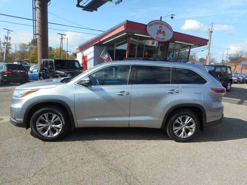 2015 Toyota Highlander for sale at The Carriage Company in Lancaster OH