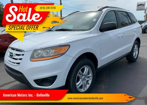 2011 Hyundai Santa Fe for sale at American Motors Inc. - Belleville in Belleville IL