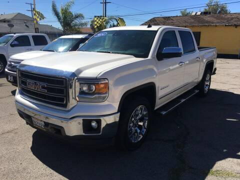 2014 GMC Sierra 1500 for sale at JR'S AUTO SALES in Pacoima CA