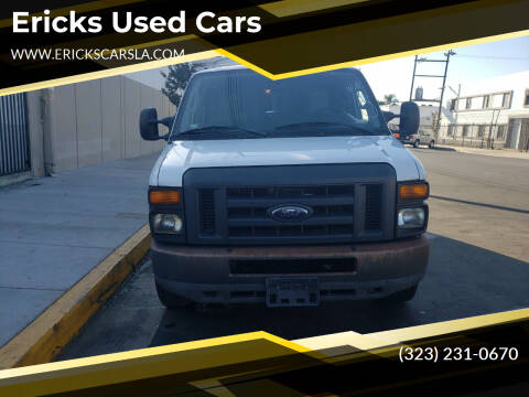 2012 Ford E-Series Cargo for sale at Ericks Used Cars in Los Angeles CA