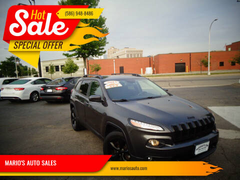 2015 Jeep Cherokee for sale at MARIO'S AUTO SALES in Mount Clemens MI