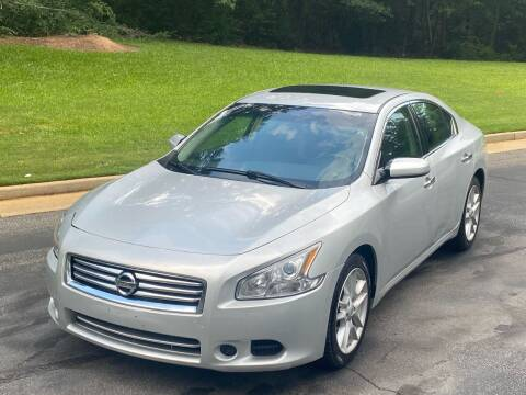 2014 Nissan Maxima for sale at Top Notch Luxury Motors in Decatur GA