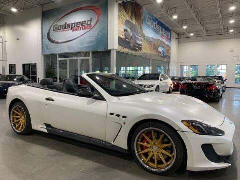 2013 Maserati GranTurismo for sale at Godspeed Motors in Charlotte NC