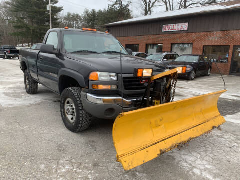 2006 GMC Sierra 2500HD for sale at Official Auto Sales in Plaistow NH