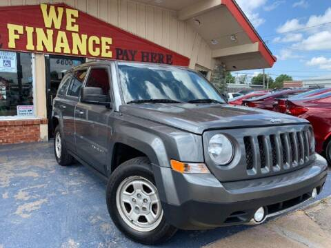 2014 Jeep Patriot for sale at Caspian Auto Sales in Oklahoma City OK