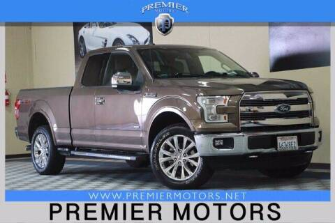 2015 Ford F-150 for sale at Premier Motors in Hayward CA