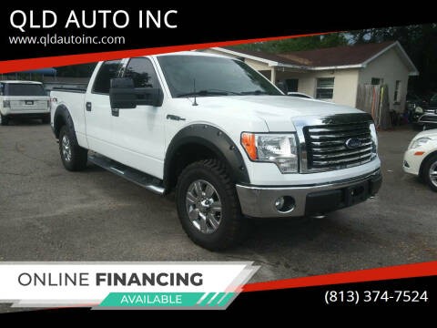 2010 Ford F-150 for sale at QLD AUTO INC in Tampa FL