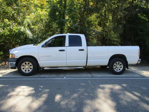 2003 Dodge Ram Pickup 2500 for sale at A & P Automotive in Montgomery AL