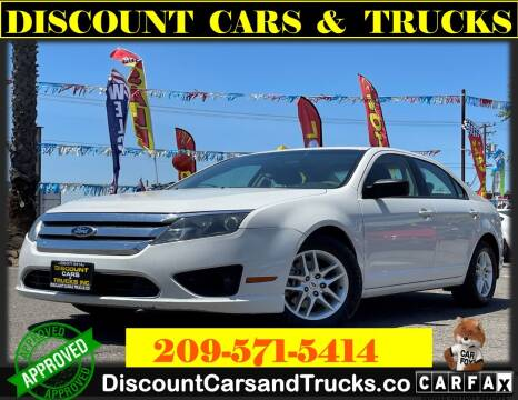 2010 Ford Fusion for sale at Discount Cars & Trucks in Modesto CA