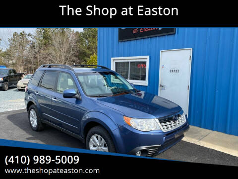 2013 Subaru Forester for sale at The Shop at Easton in Easton MD