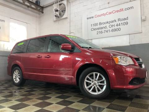 2015 Dodge Grand Caravan for sale at County Car Credit in Cleveland OH