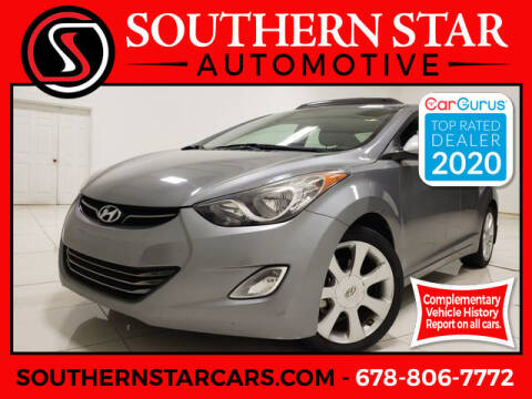 2013 Hyundai Elantra for sale at Southern Star Automotive, Inc. in Duluth GA