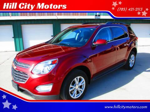 2017 Chevrolet Equinox for sale at Hill City Motors in Hill City KS
