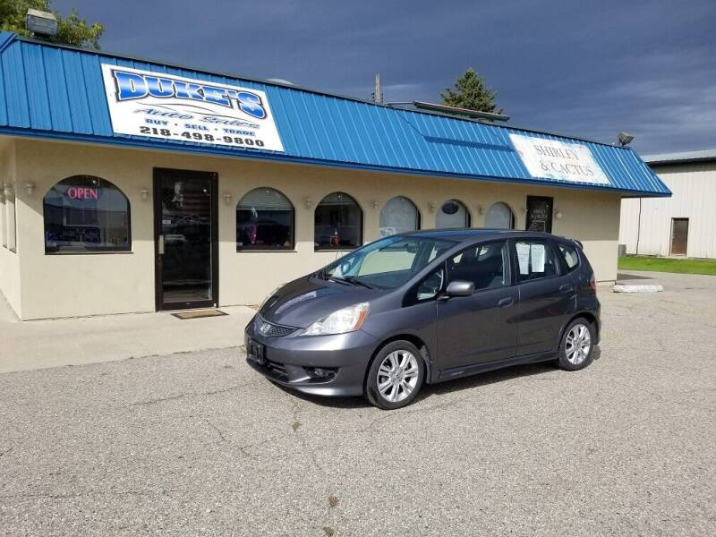 2011 Honda Fit for sale at Dukes Auto Sales in Glyndon MN