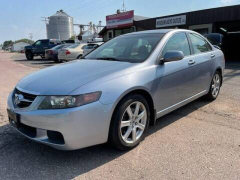 2005 Acura TSX for sale at WINDOM AUTO OUTLET LLC in Windom MN