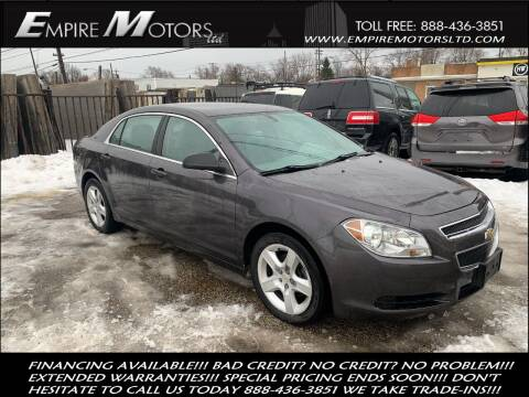 2011 Chevrolet Malibu for sale at Empire Motors LTD in Cleveland OH