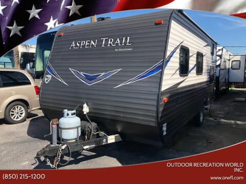 2019 Dutchmen Aspen Trail for sale at Outdoor Recreation World Inc. in Panama City FL