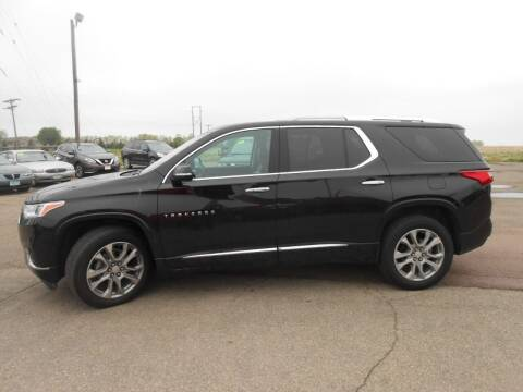 2018 Chevrolet Traverse for sale at Salmon Automotive Inc. in Tracy MN