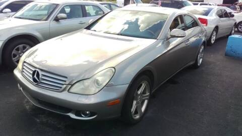 2006 Mercedes-Benz CLS for sale at Tony's Auto Sales in Jacksonville FL