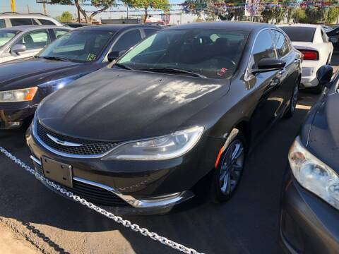 2015 Chrysler 200 for sale at Valley Auto Center in Phoenix AZ