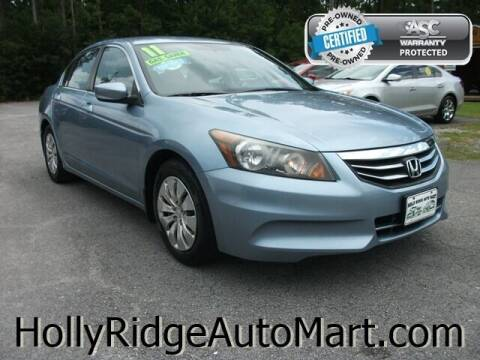 2011 Honda Accord for sale at Holly Ridge Auto Mart in Holly Ridge NC