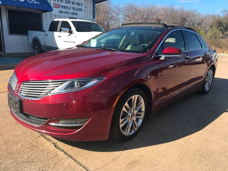 2014 Lincoln MKZ Hybrid for sale in Houston, TX