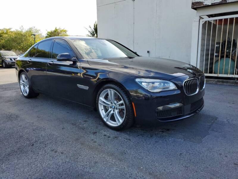 2015 BMW 7 Series for sale at MIAMI ACURA in Miami FL