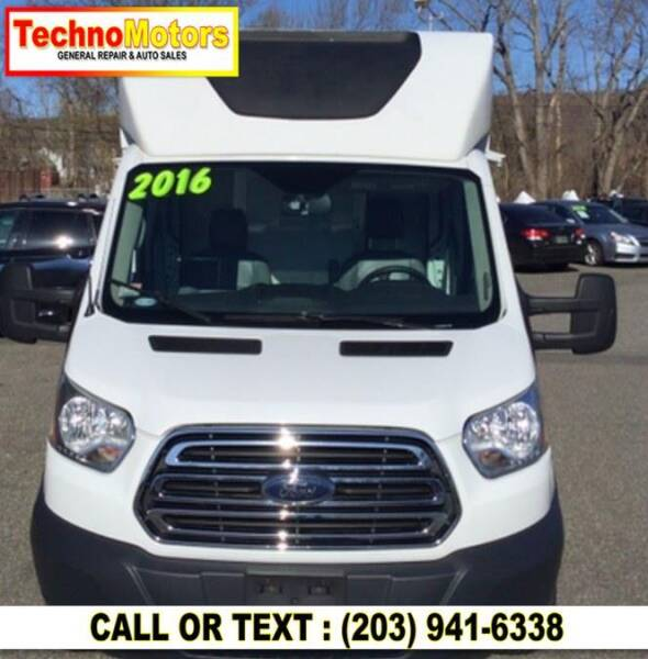 2016 Ford Transit Cutaway for sale at Techno Motors in Danbury CT