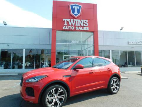 2018 Jaguar E-PACE for sale at Twins Auto Sales Inc Redford 1 in Redford MI