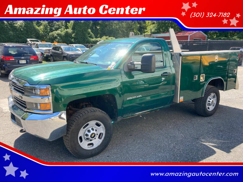 2016 Chevrolet Silverado 2500HD for sale at Amazing Auto Center in Capitol Heights MD