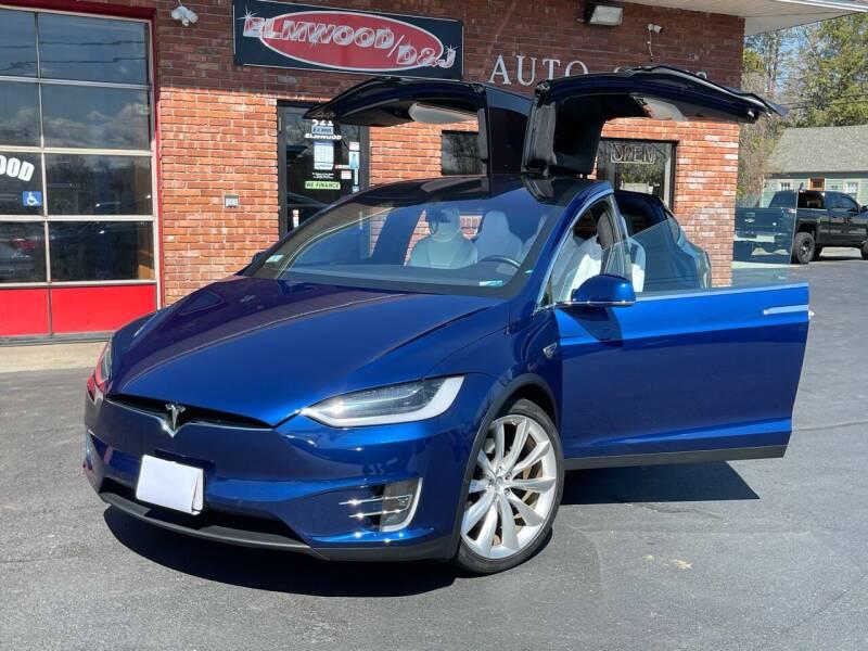 2016 Tesla Model X for sale at Elmwood D+J Auto Sales in Agawam MA
