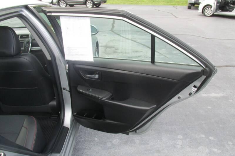 2017 Toyota Camry SE 4dr Sedan - Wilkesboro NC