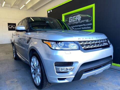 2014 Land Rover Range Rover Sport for sale at GCR MOTORSPORTS in Hollywood FL