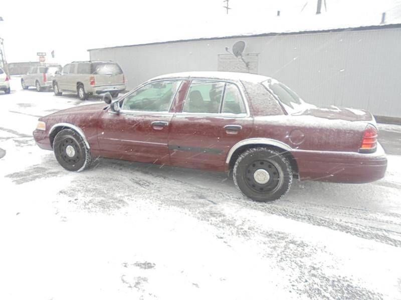2009 Ford Crown Victoria Police Interceptor 4dr Sedan (3.27 Axle) - Ramsey MN
