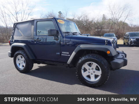 2013 Jeep Wrangler for sale at Stephens Auto Center of Beckley in Beckley WV