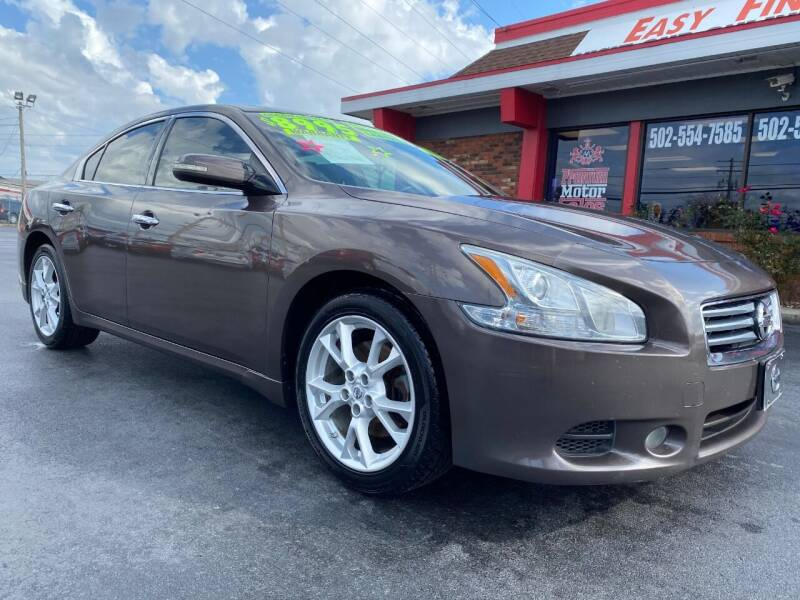 2012 Nissan Maxima for sale at Premium Motors in Louisville KY