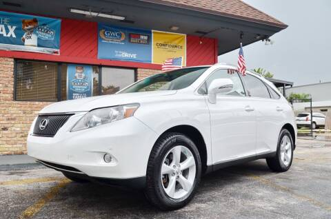 2010 Lexus RX 350 for sale at ALWAYSSOLD123 INC in North Miami Beach FL