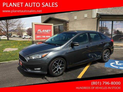 2017 Ford Focus for sale at PLANET AUTO SALES in Lindon UT