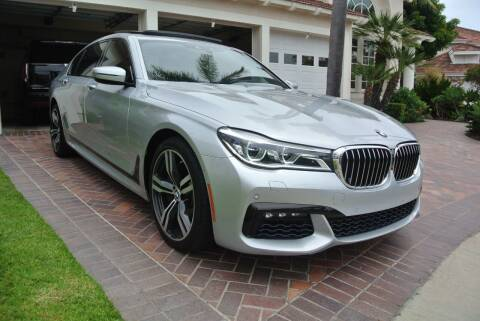 2016 BMW 7 Series for sale at Newport Motor Cars llc in Costa Mesa CA
